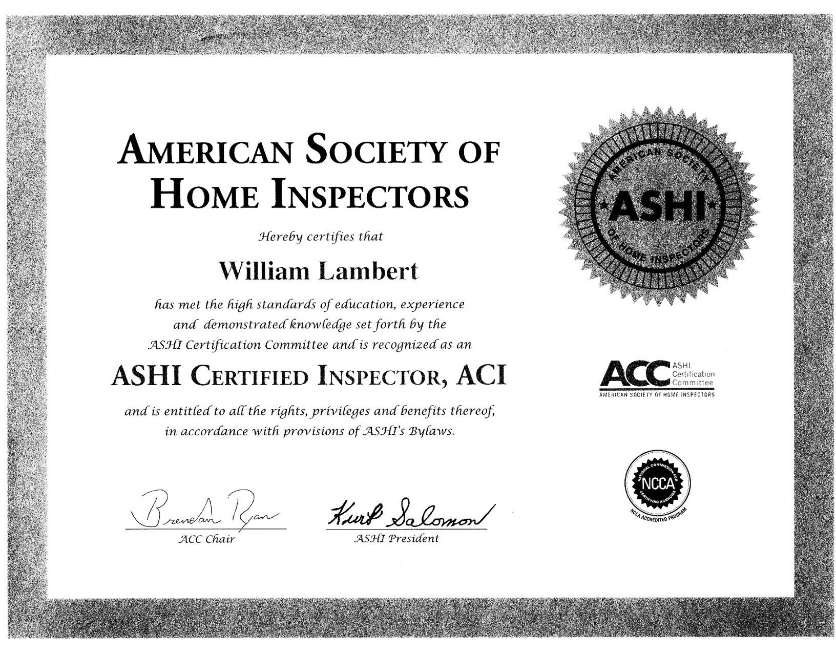 Gsi Great Southeastern Inspections Inc
